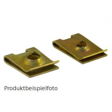 Schnappmutter-Karosseriemutter-Blechmutter 6,5 mm