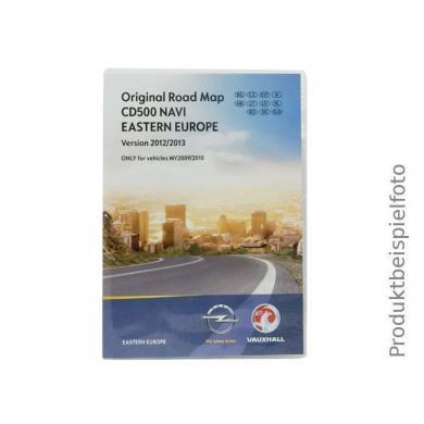 Kartenupdate Opel CD 500 Navi UK/Irland-2012/2013-MJ09/10