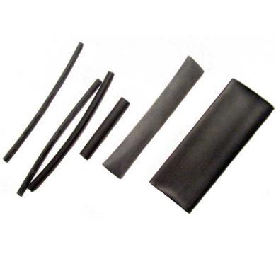 Schrumpfschlauch schwarz 12,7 x 100