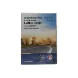 Kartenupdate Opel CD 500 Navi Mitteleuropa-2012/2013-MJ09/10