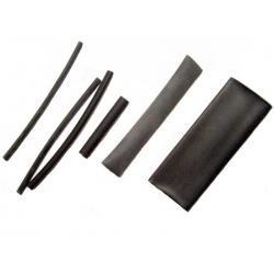 Schrumpfschlauch schwarz 2,4 x 100